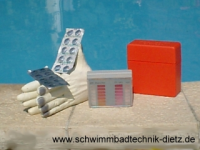 POOLTESTER Chlor-pH